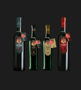 1 Tintilia Red Wine, 1 Monovariety Oil, 1 Molise D.O.P. Oil, 1 Molise Rosso Red Wine