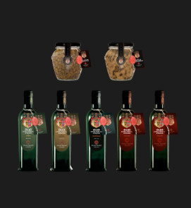 1 Macinato Tartufo Nero, 1 Fettine Tartufo Nero, 4 Condimenti