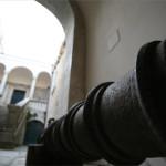 Cannone del XVII secolo all'ingresso del Castello