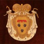 Arazzo con stemma della famiglia Pignatelli
