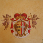 Stemma della famiglia Pignatelli di Monteroduni