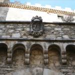 The Pignatelli Coat of Arms, Castle courtyard